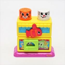 Кубики-блоки Зоомагазин Fisher Price.
