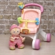 Коляска-ходунки с первой куклой малыша Fisher price.