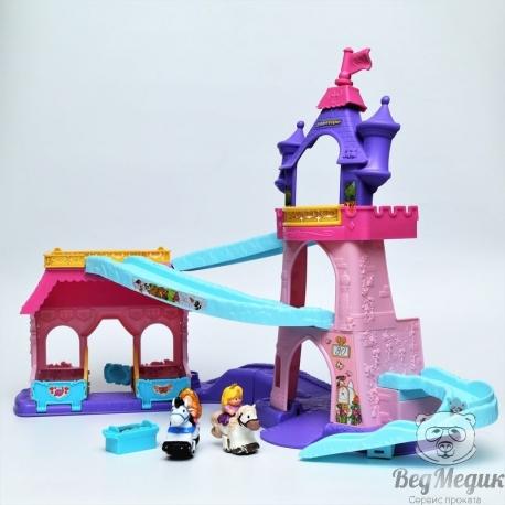 Музыкальный замок принцесс Disney Fisher Price.