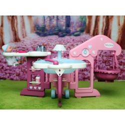 Игровой центр Baby Nurse Smoby для игр с большими куклами.