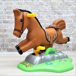 Электрическая качалка-лошадка Rocky Peg Perego.