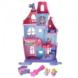 Дворец принцессы Disney с волшебной палочкой. Little People Fisher-Price.