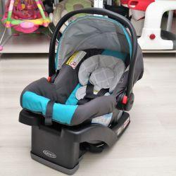 Автокресло SnugRide Click Connect 30 Infant Car Seat Graco, 0+