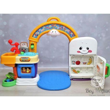 Детская двусторонняя кухня с аркой Fisher Price