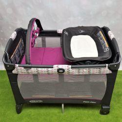 Манеж-кровать Graco с пеленатором напрокат