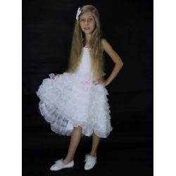 """Детское нарядное белое платье """"Жаклин"""""""