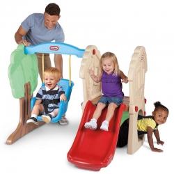 Детский игровой центр «Горка с качелей» Little Tikes.