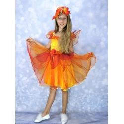 Детское платье «Фея осени»
