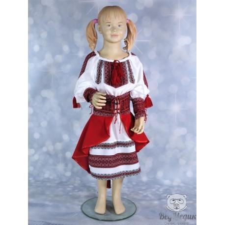 """Детский национальный костюм (платье) """"Украиночка""""."""