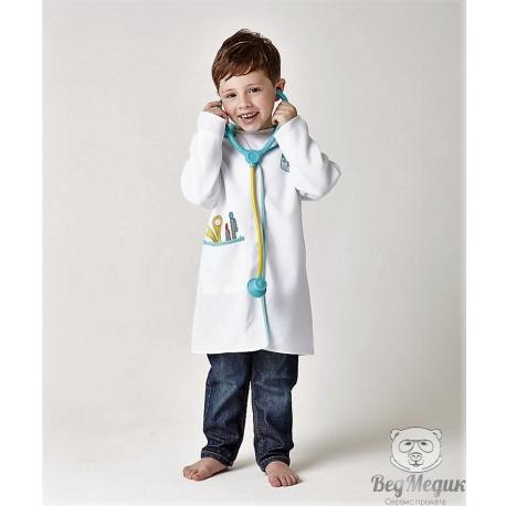 Детский карнавальный костюм «Маленький доктор»