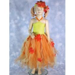 Детский карнавальный костюм (платье) «Осень»