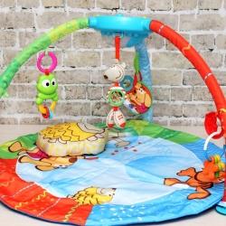 Детский развивающий игровой коврик Bubble Gym Chicco.
