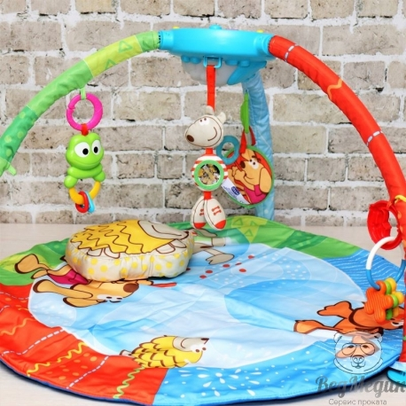 Детский игровой коврик Bubble Gym Chicco.
