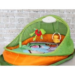 Детский игровой коврик для путешествий Chicco Fun Travel.
